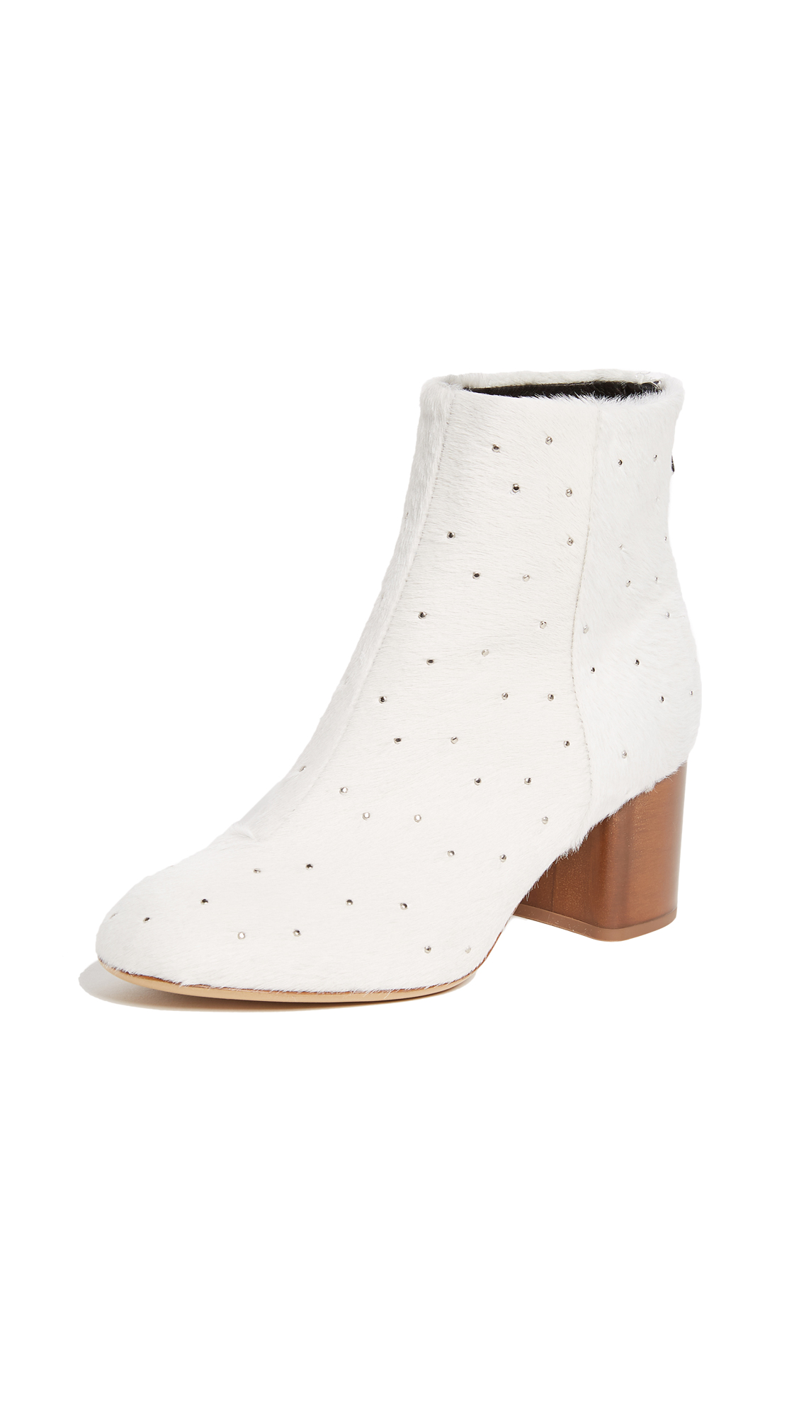Rag & Bone Drea Booties - White