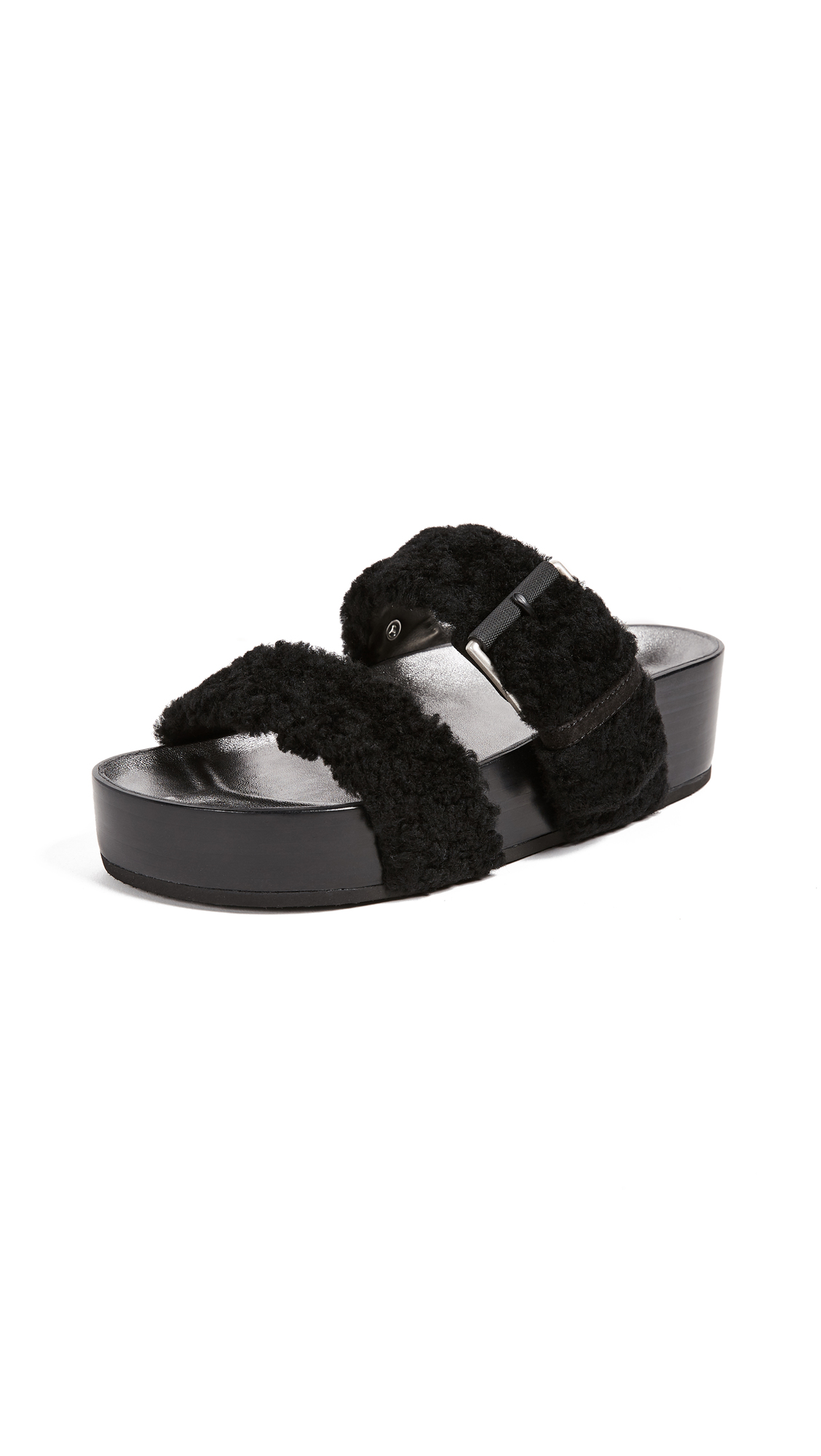 Rag & Bone Evin Platform Sandals - Black