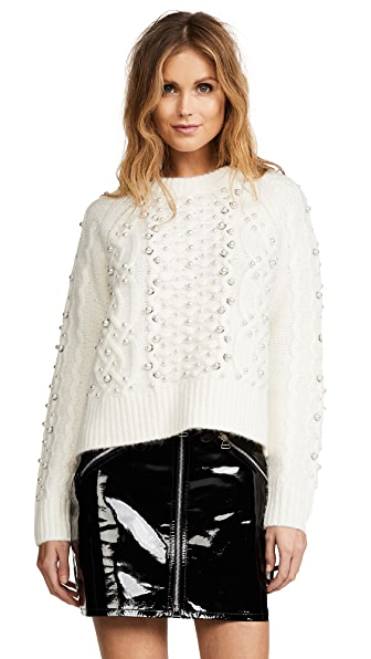 Rag & Bone Jemima Sweater In Ivory