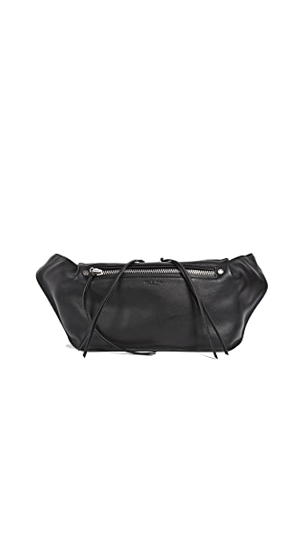 Rag & Bone Large Ellis Fanny Pack In Black