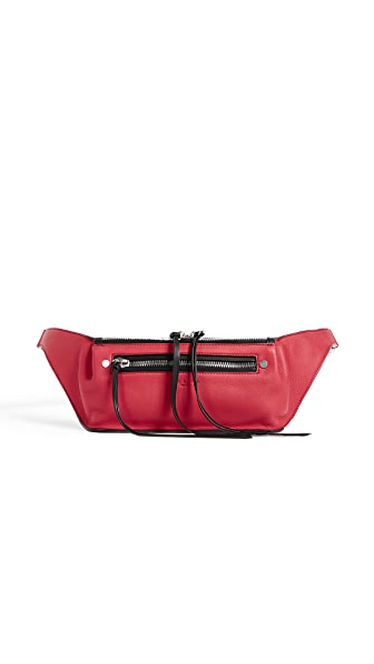 Rag & Bone Ellis Fanny Pack In Teaberry