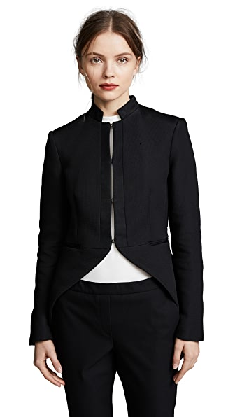 Rag & Bone Keri Tail Jacket In Black
