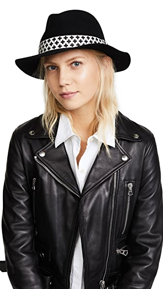 Rag & Bone Abbott Fedora - Black