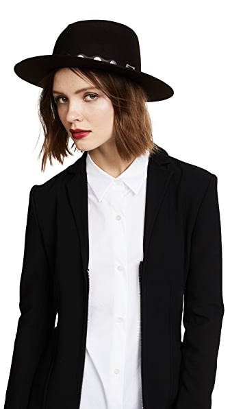 Rag & Bone Edie Fedora - Brown