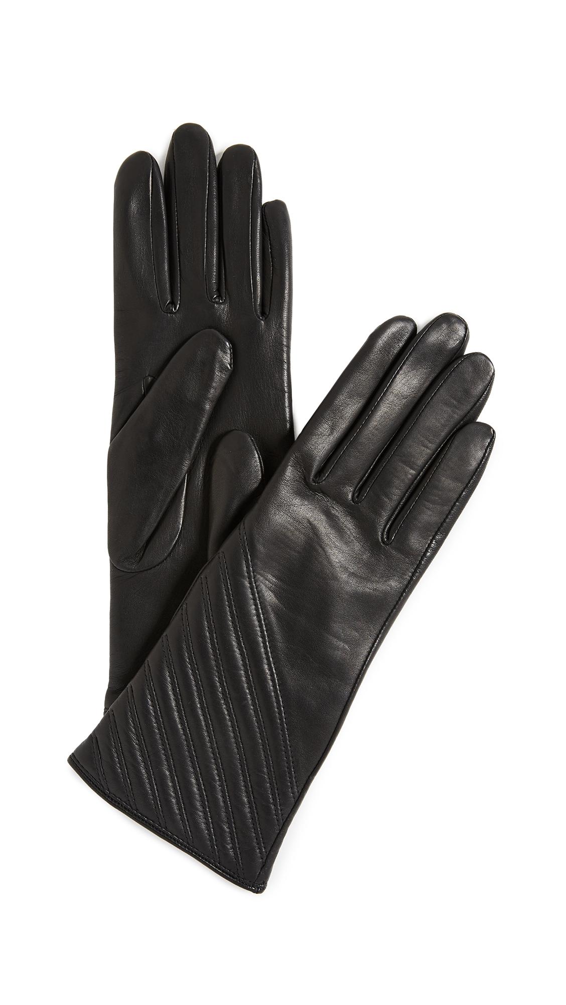Rag & Bone Slant Gloves - Black