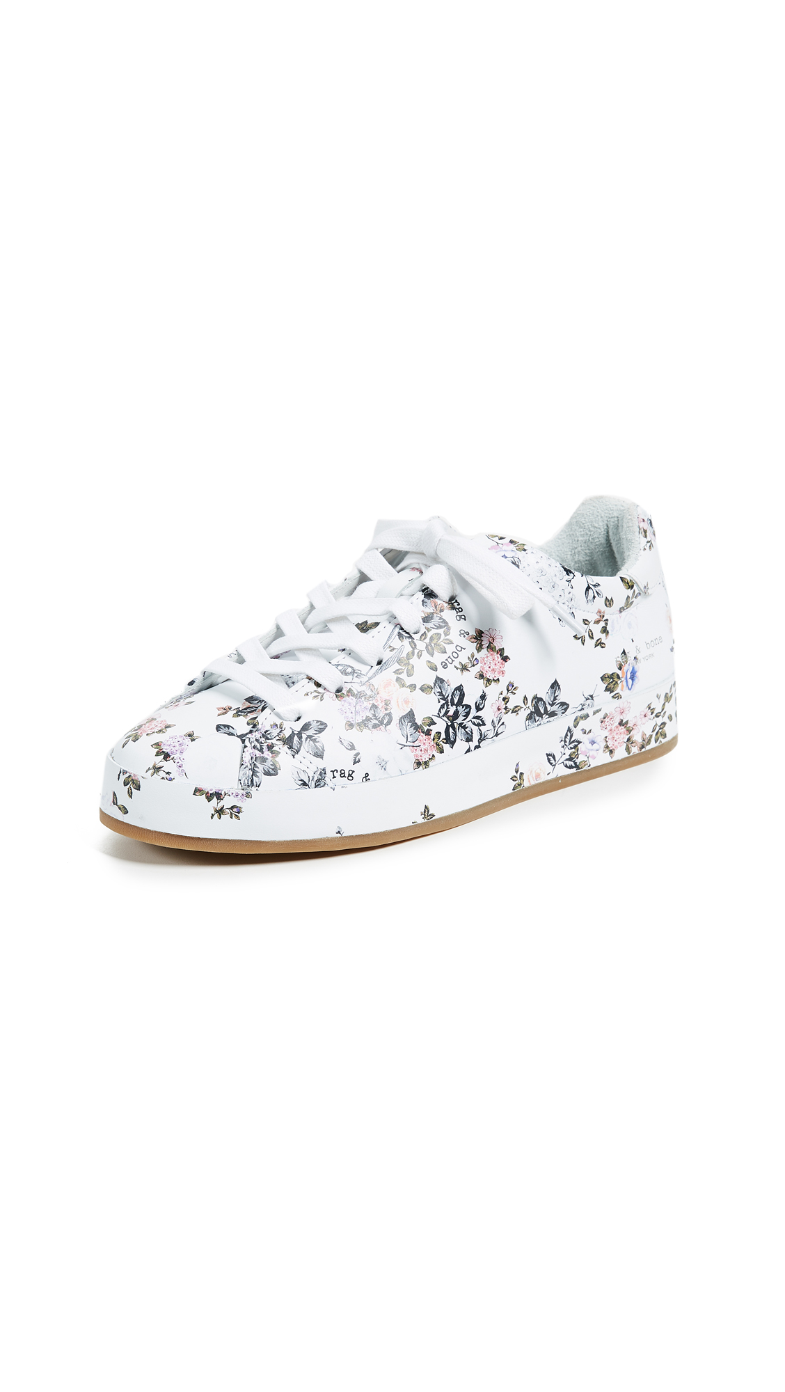 Rag & Bone RB1 Low Sneakers - Garden Floral