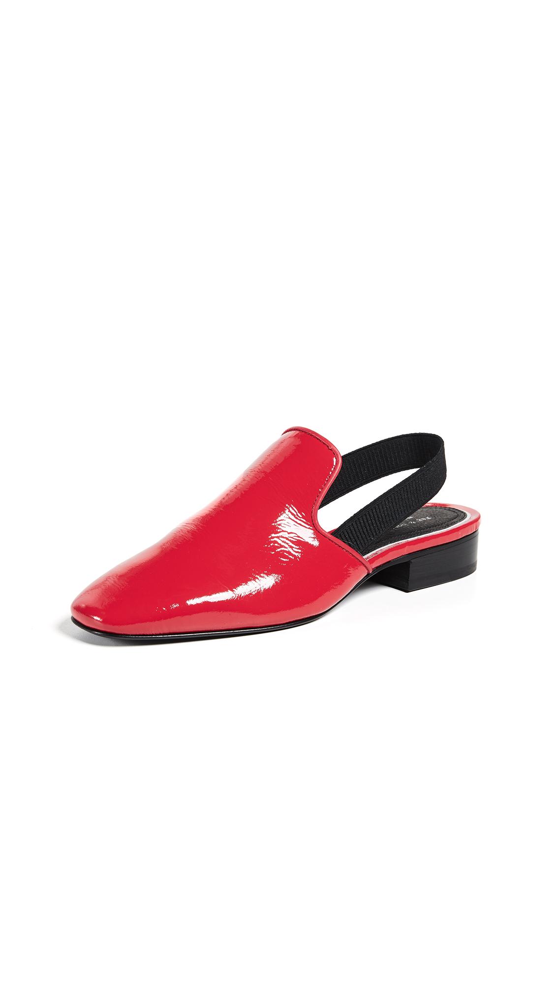Rag & Bone Luis Slingback Flats - Red