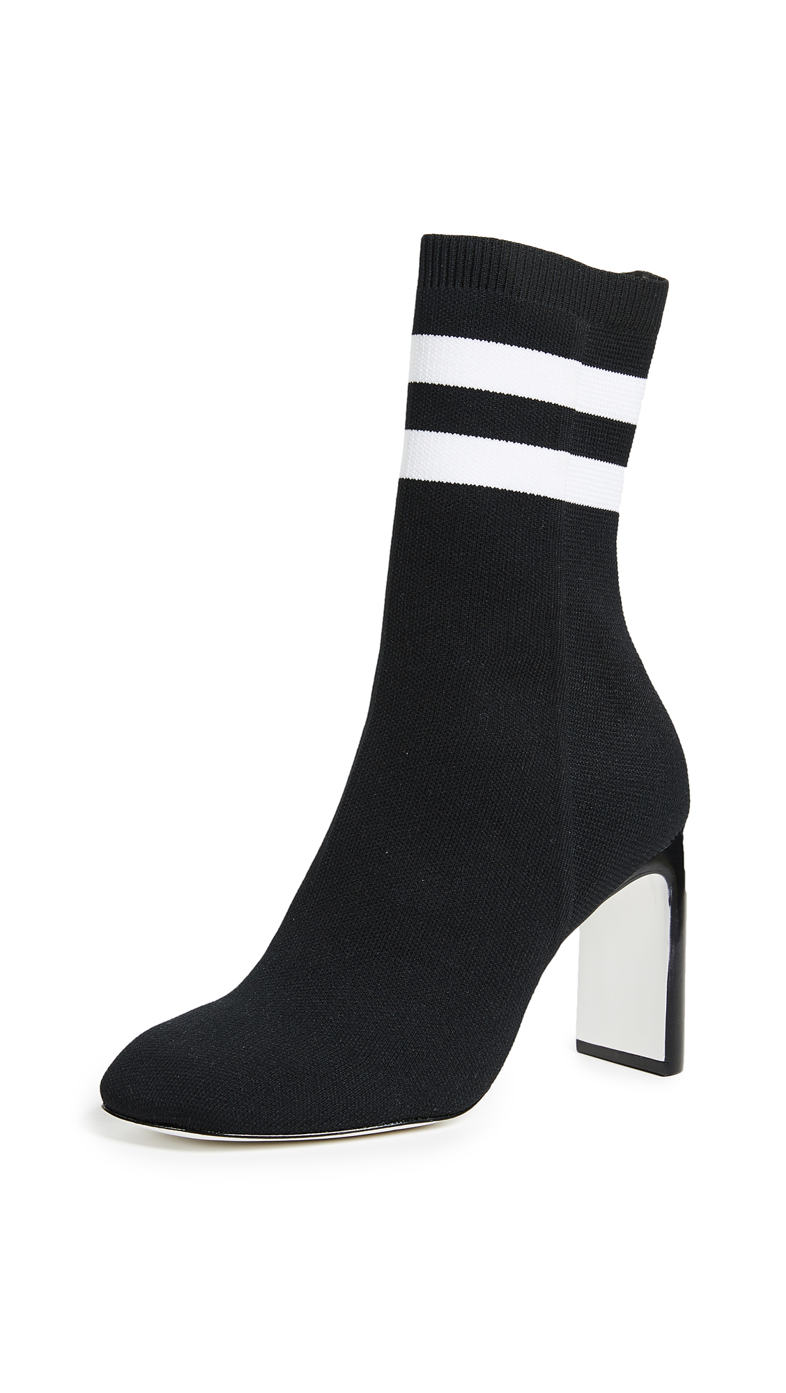 Rag & Bone Ellis Sock Booties - Black