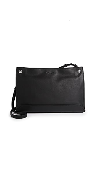 Rag & Bone Compass Cross Body Bag In Black