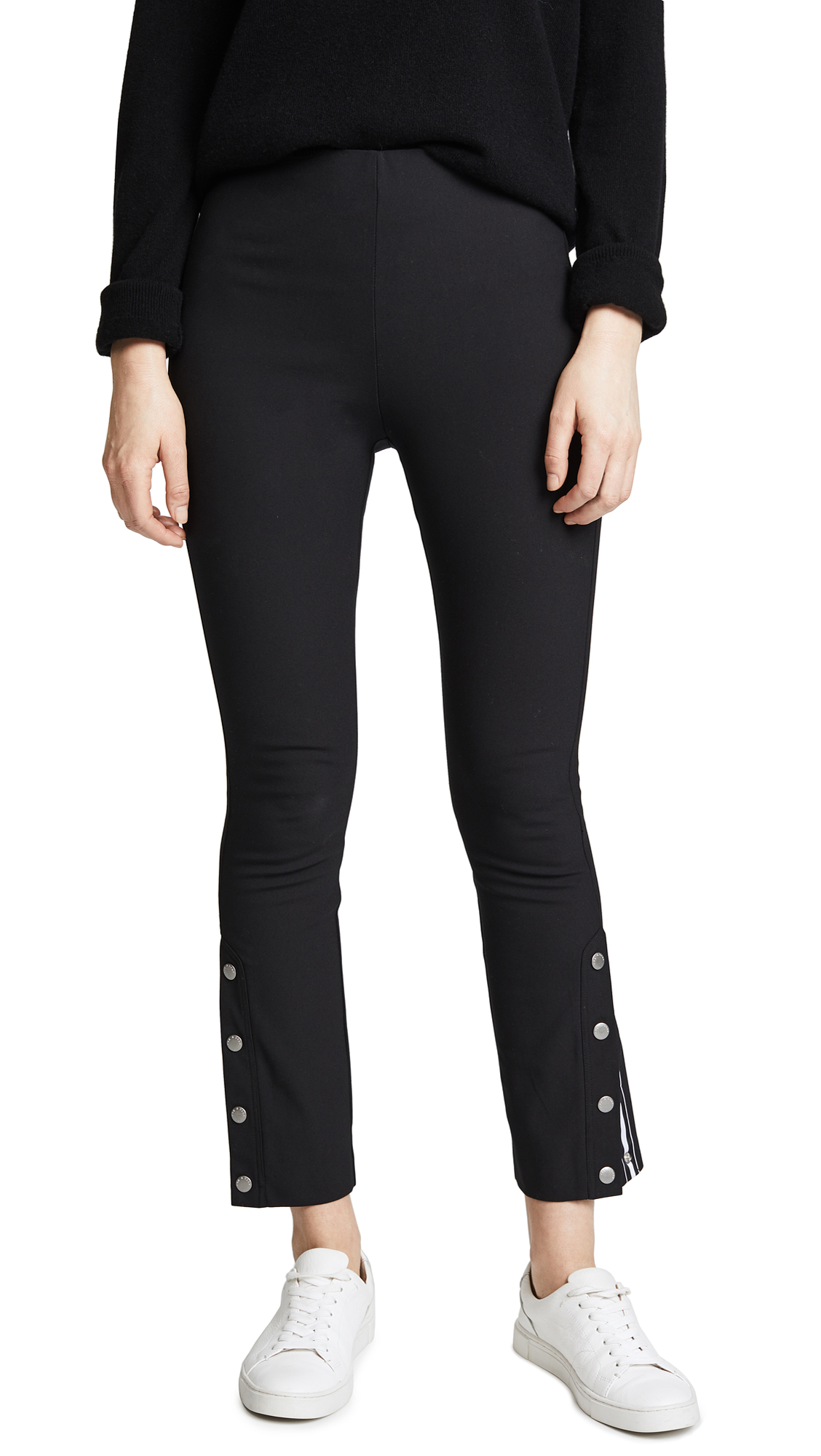 Rag & Bone Simone Snap Pants In Black