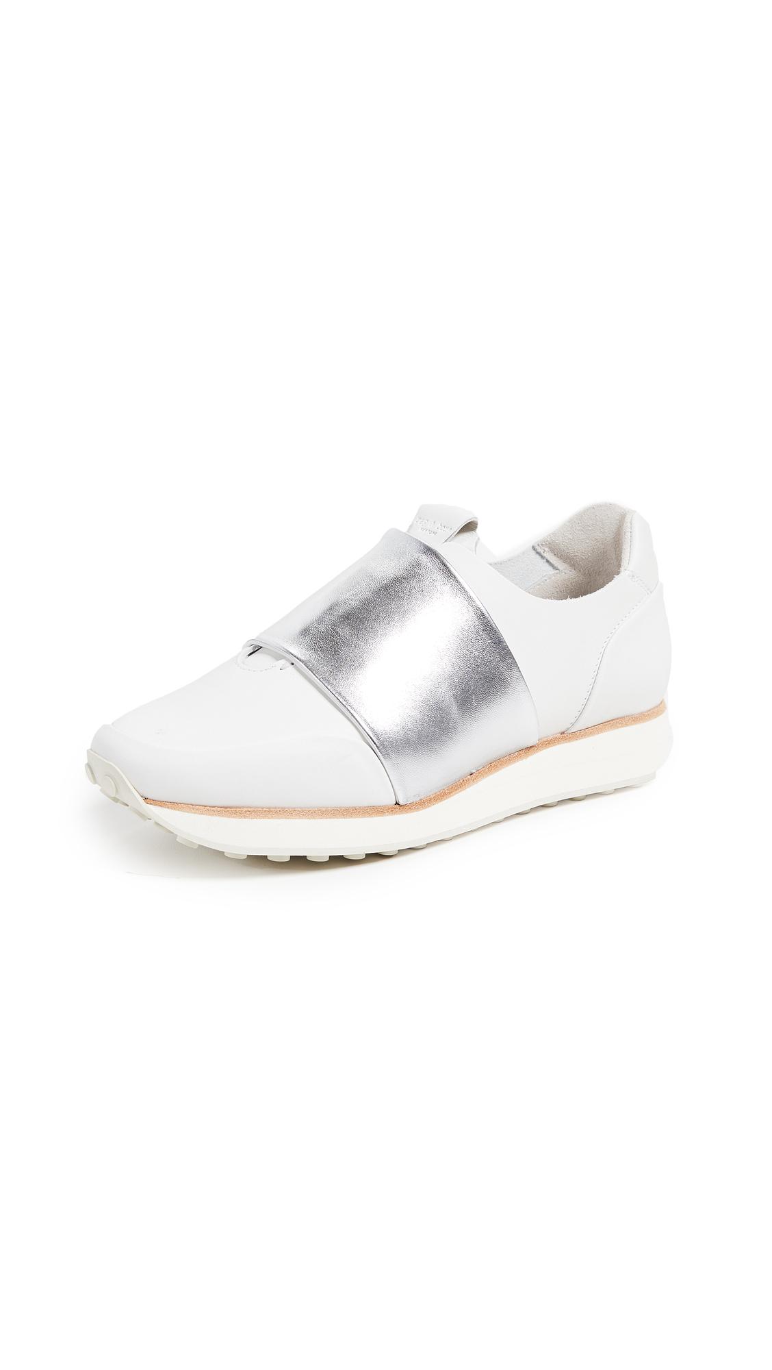 Rag & Bone Dylan Sneakers - White/Silver