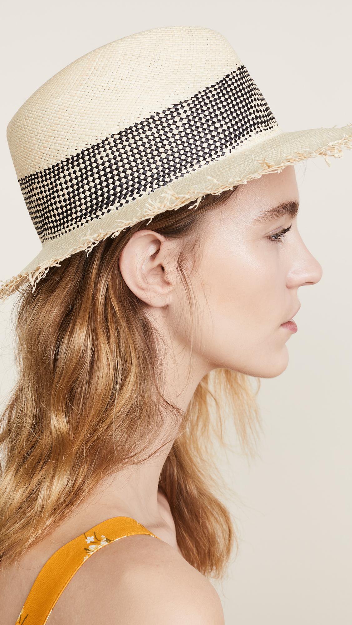 365839324 Rag & Bone Frayed Edge Panama Hat | SHOPBOP