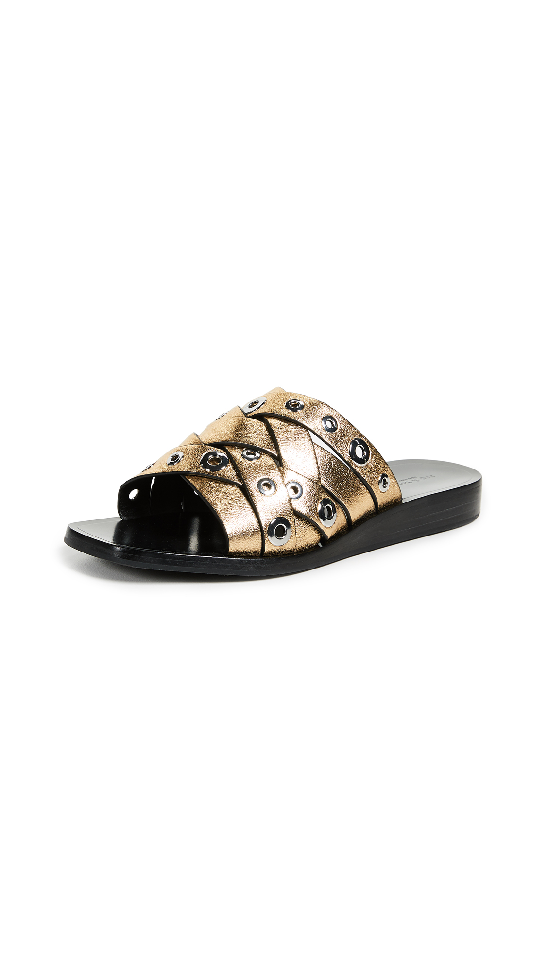 Rag & Bone Hartley Slides - Gold