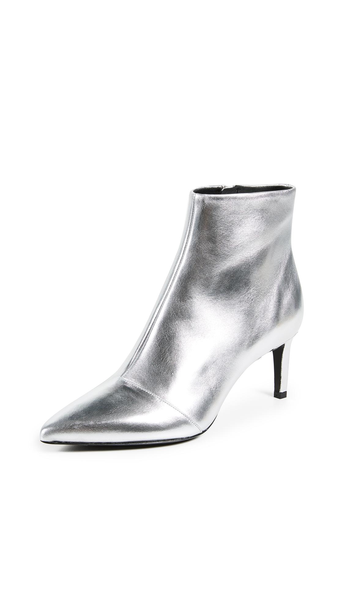 Rag & Bone Beha Booties - Silver