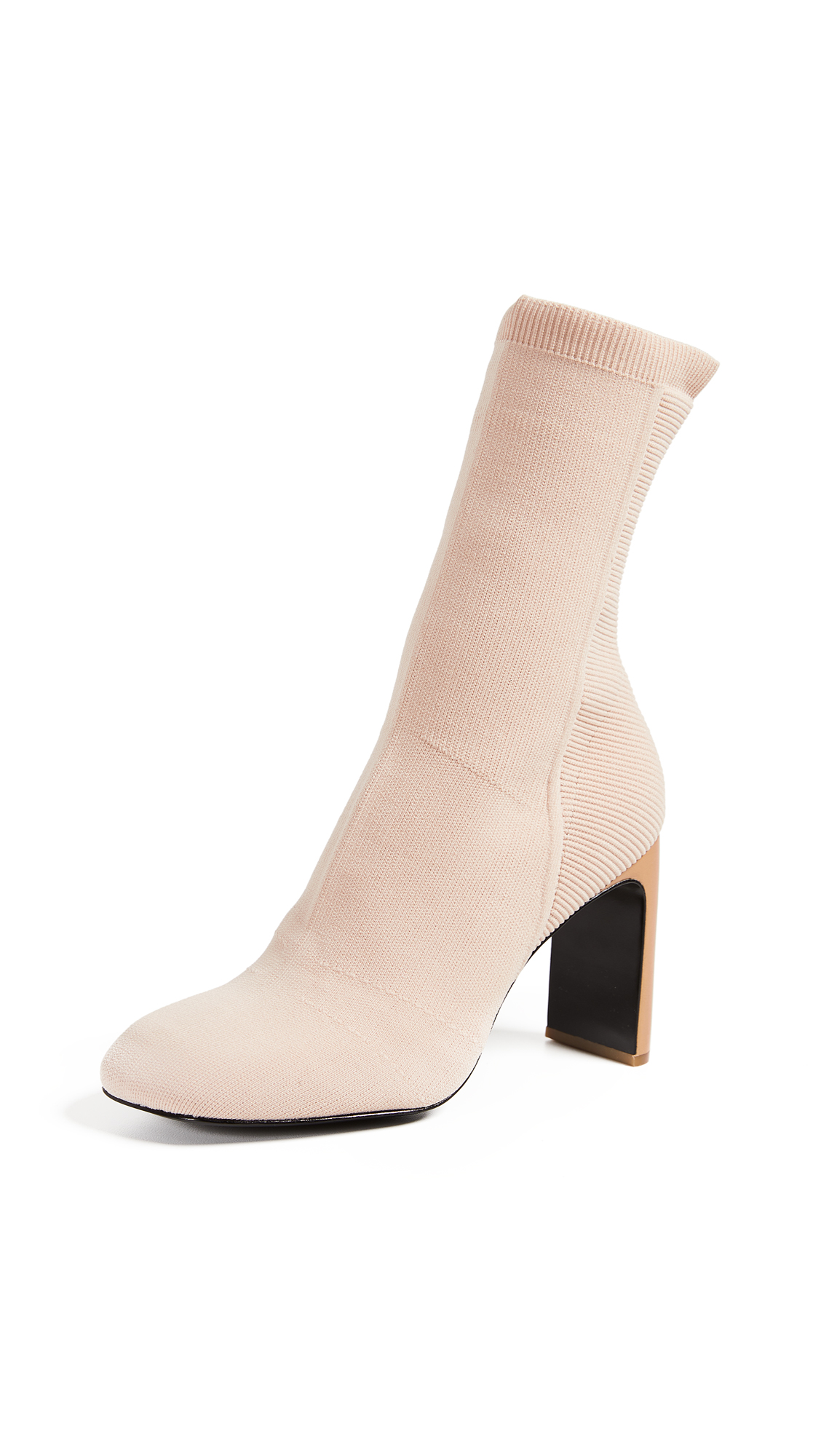Rag & Bone Ellis Knit Boots - Nude
