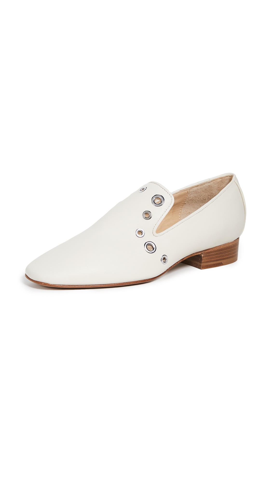 Tate Loafers, Ivory