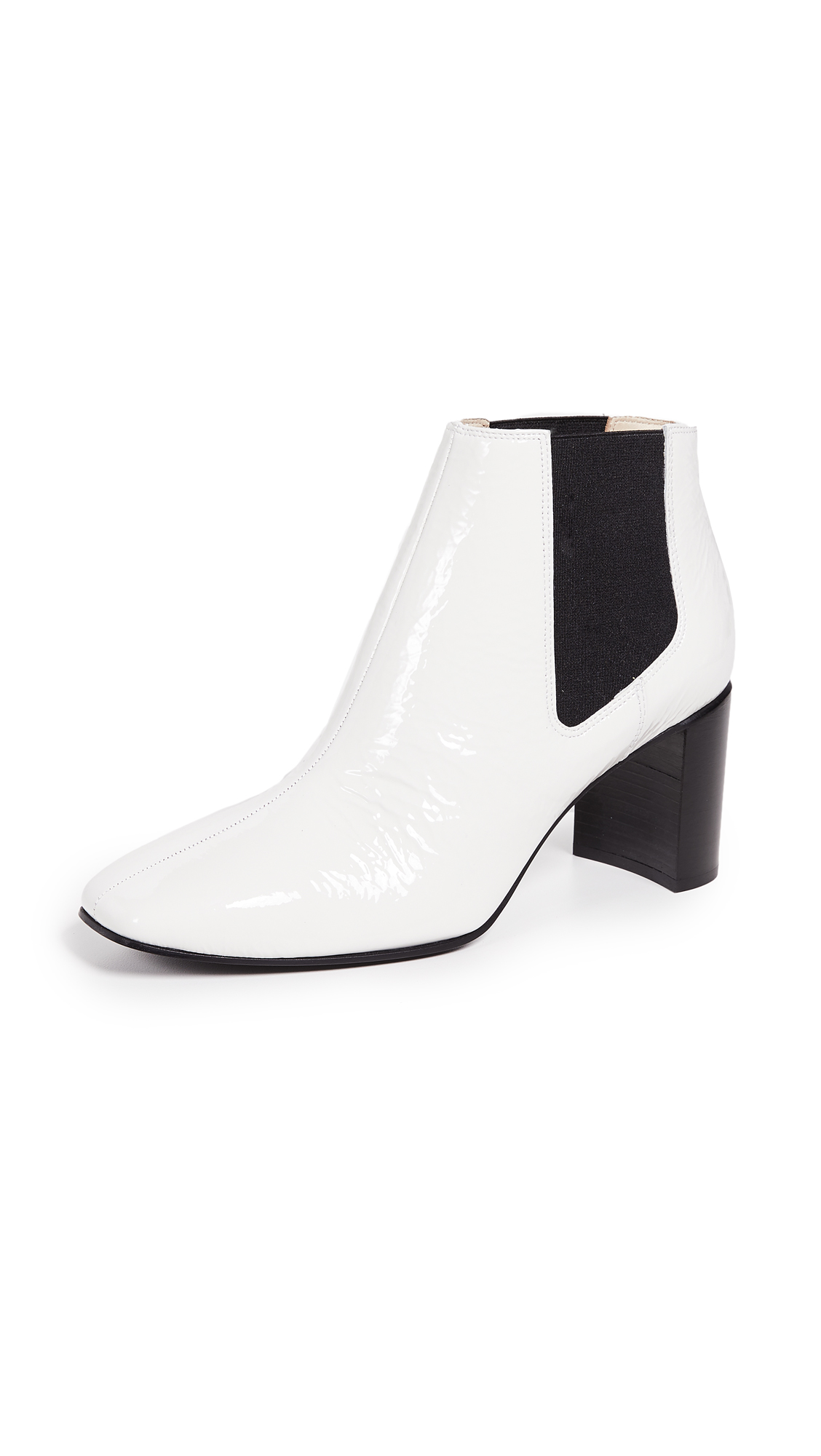 Aslen Patent Leather Boots