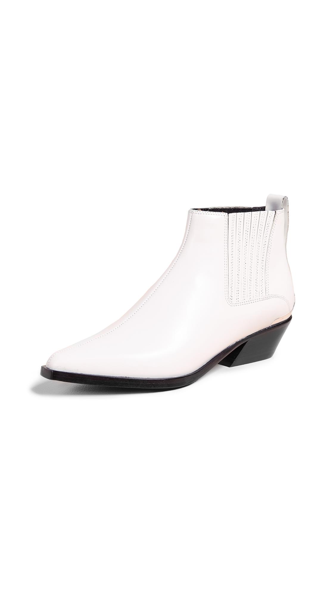 Rag & Bone Westin Boots - Antique White