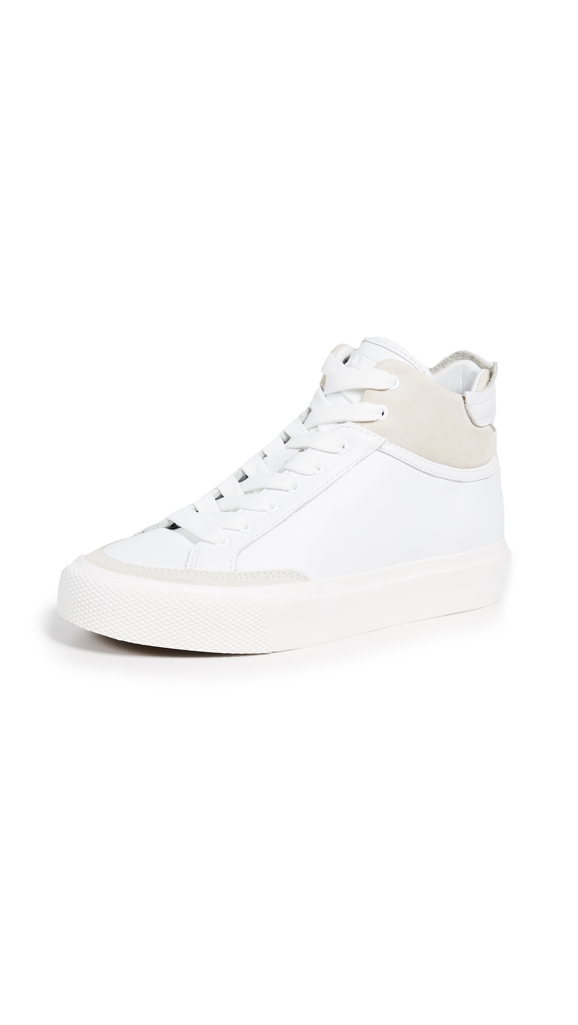 Rag & Bone RB Army High Sneakers - White
