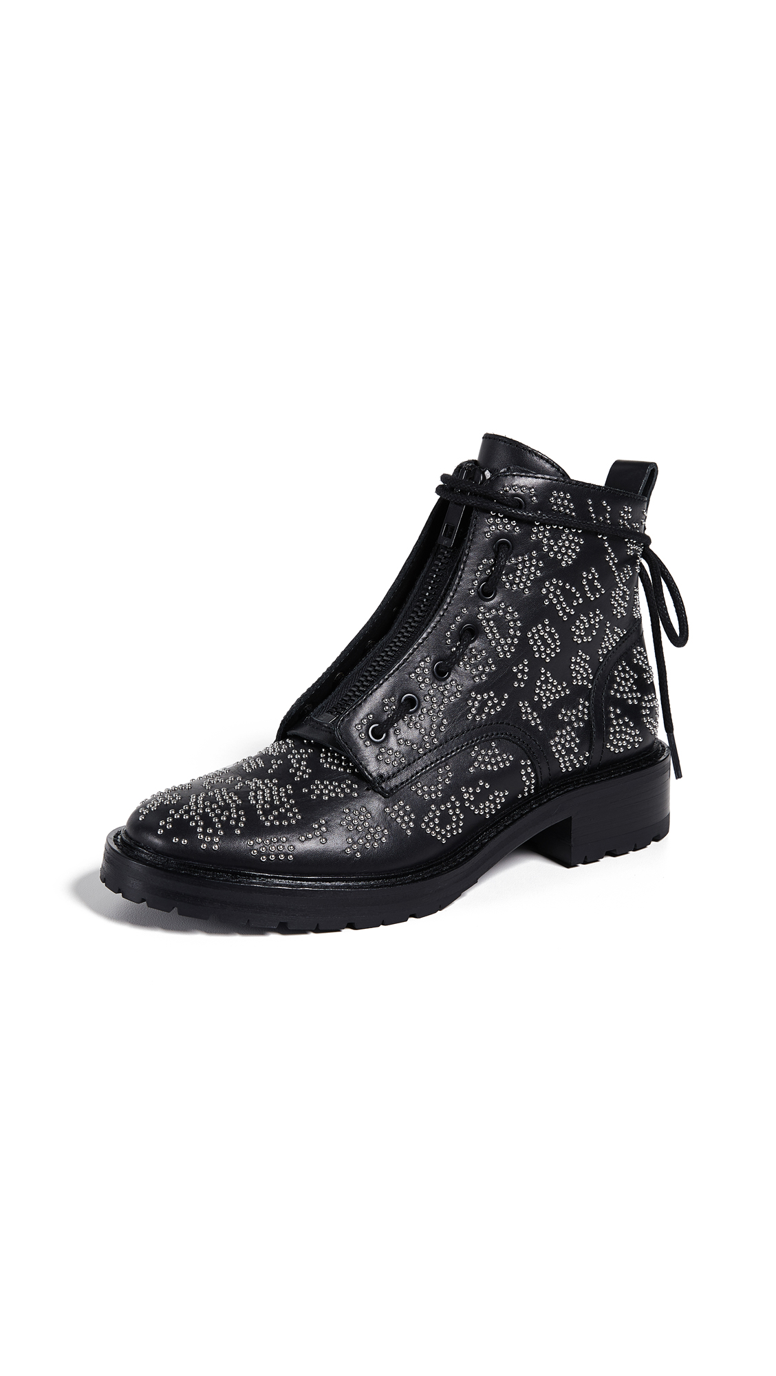 Rag & Bone Cannon Boots - Black/Silver