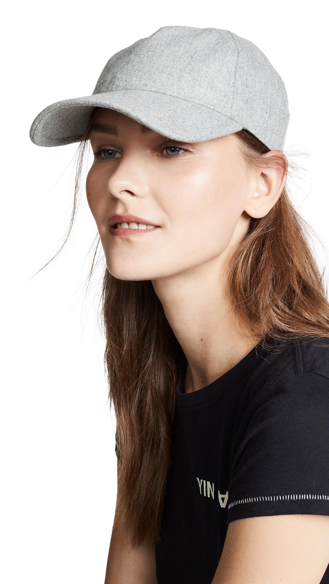Light Heather Grey Marilyn Baseball Cap