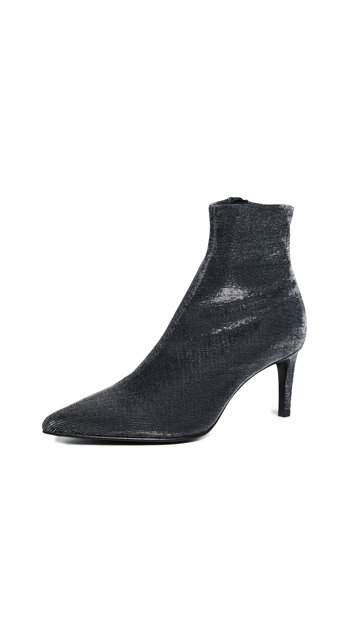 Rag & Bone Beha Booties - Black/Silver