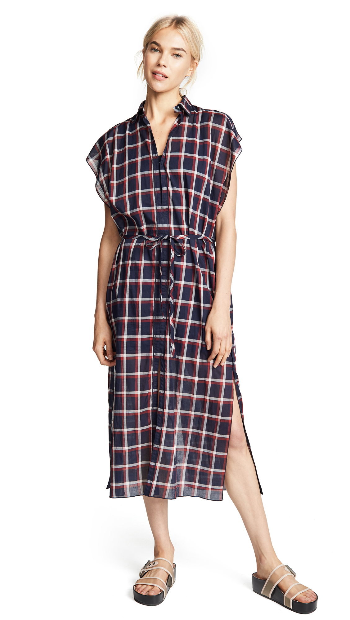 Rag & Bone Sybil Dress In Navy Multi