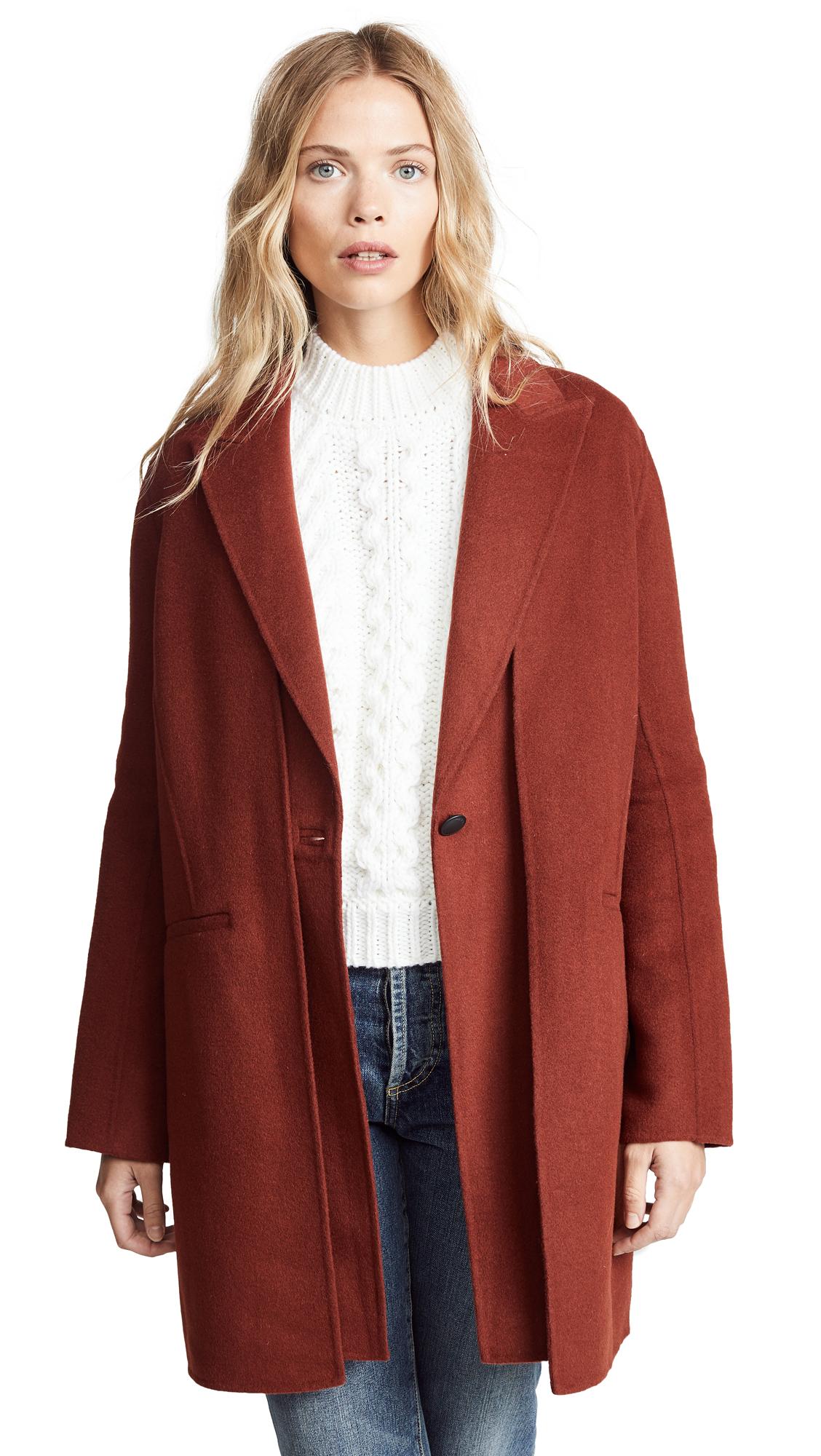 Rag & Bone Kaye Coat with Removable Vest