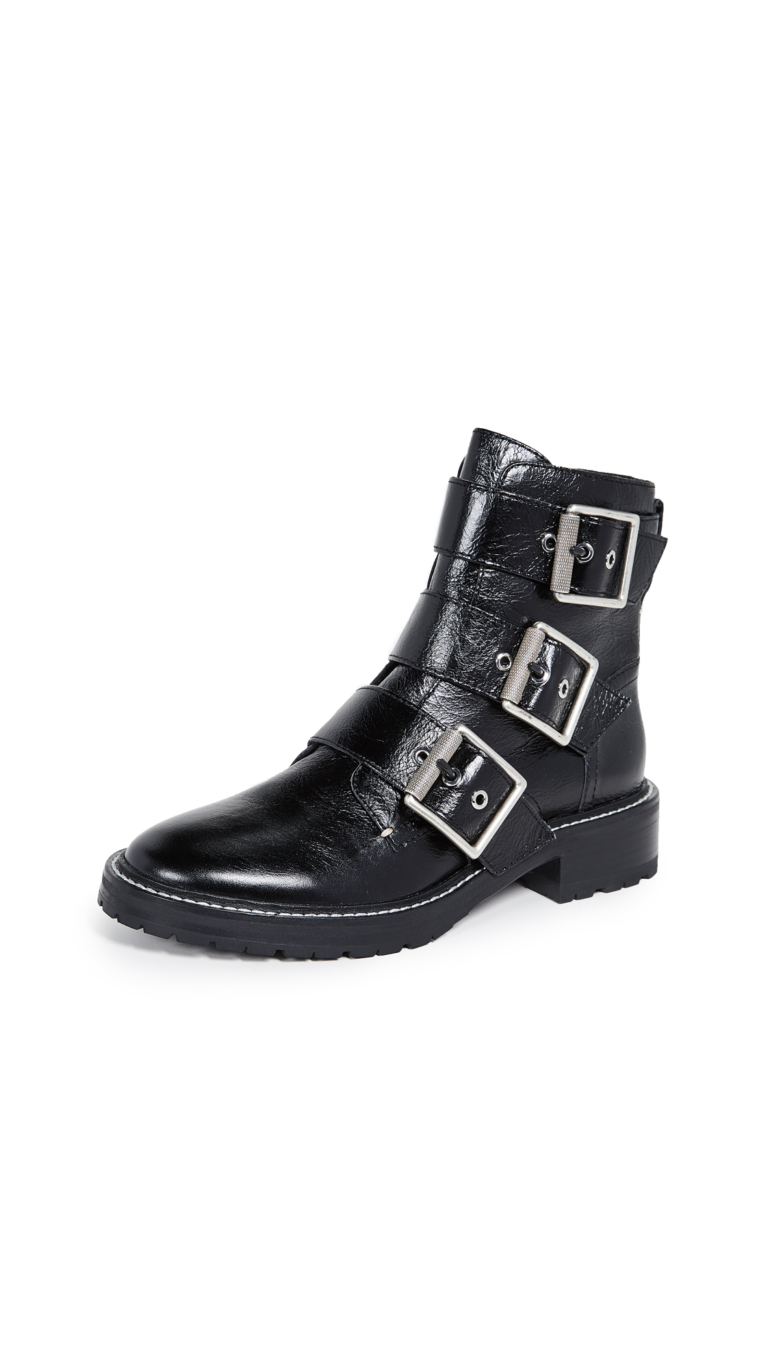 Rag & Bone Cannon Buckle Boots