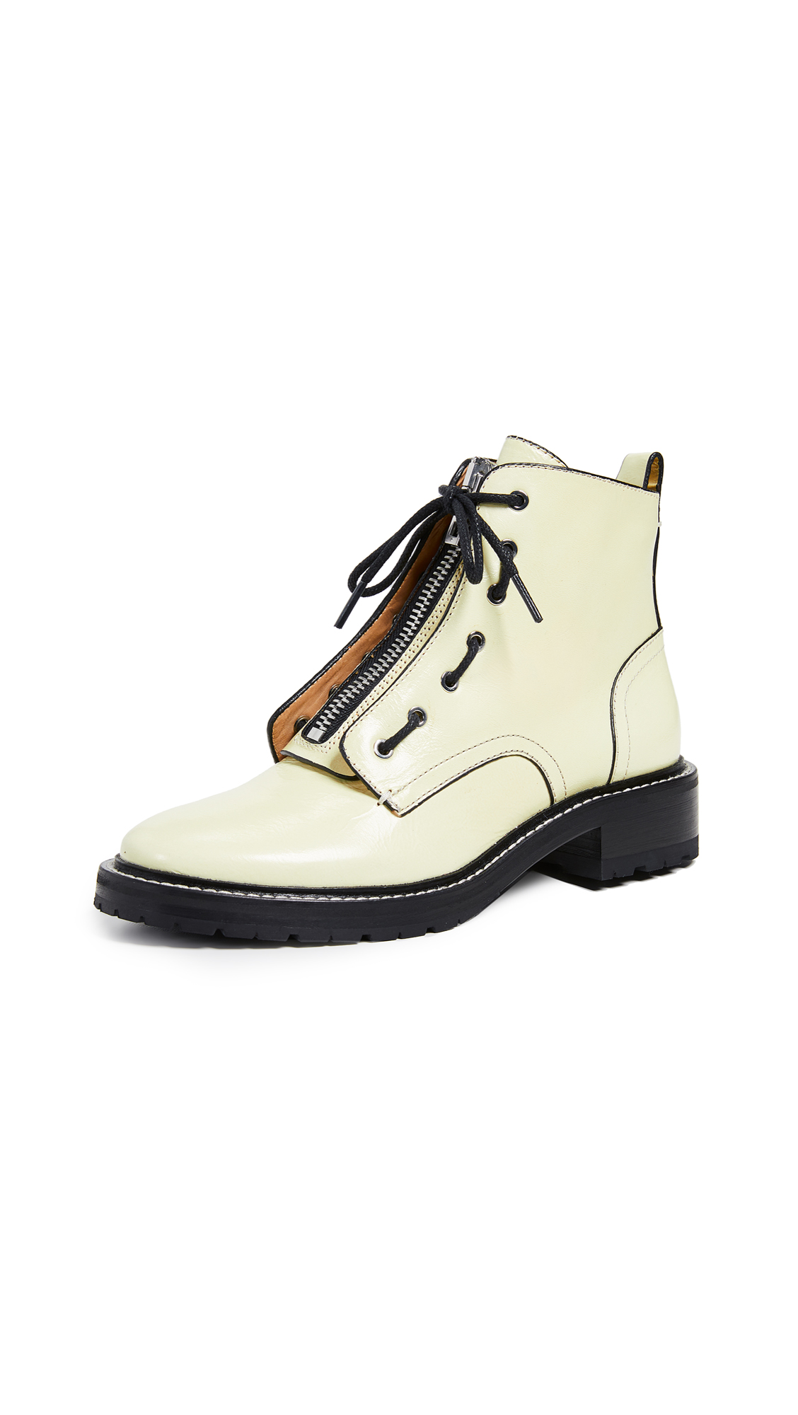 Rag & Bone Cannon Boots - White
