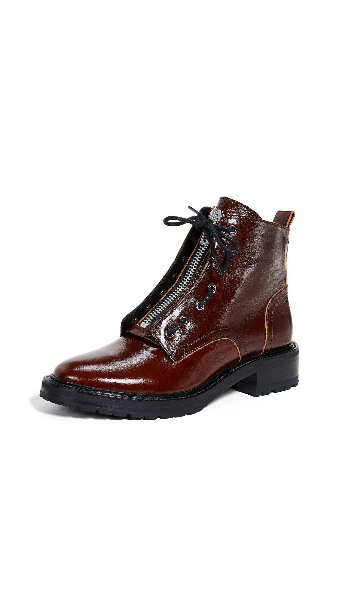 Rag & Bone Cannon Boots - Mahogany