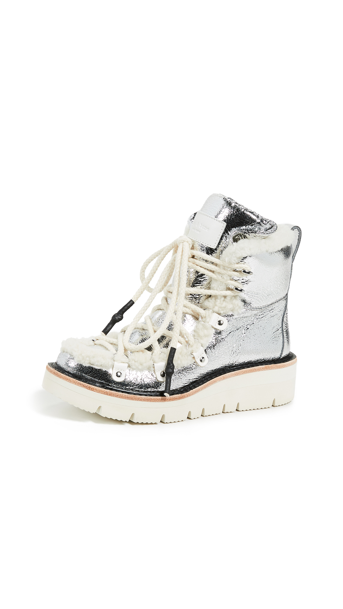 Rag & Bone Skyler Boots - Silver