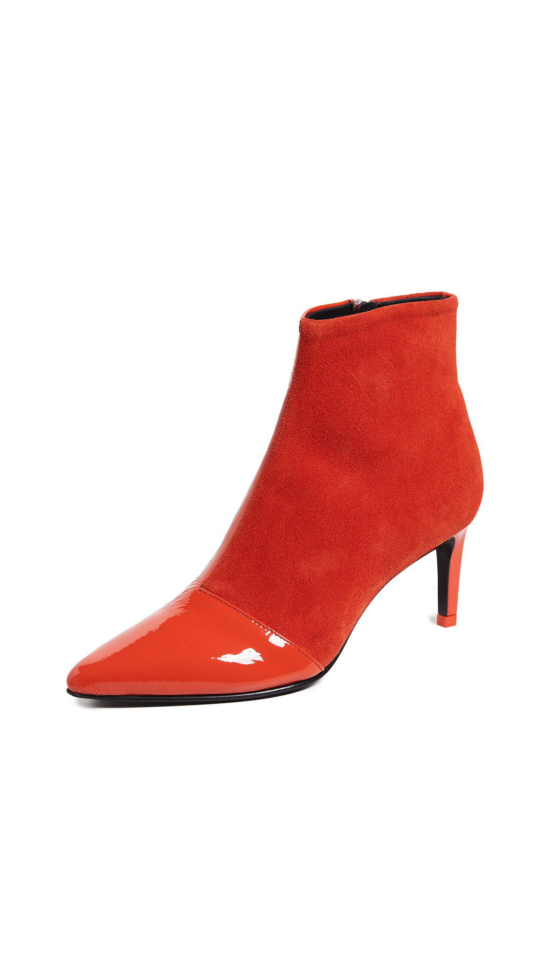 Rag & Bone Beha Booties - Orange