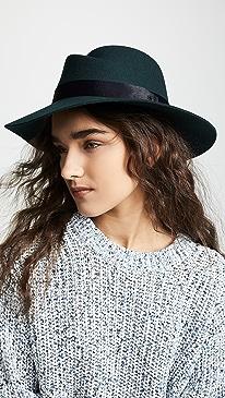 40858e6b1ad Rag   Bone. Zoe Fedora Hat