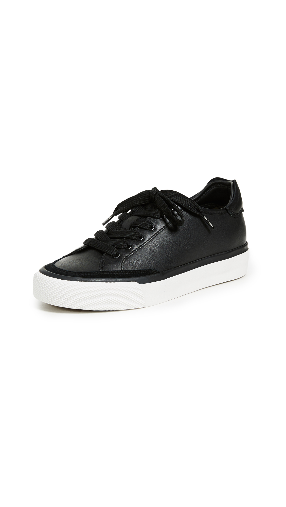 Rag & Bone RB Army Low Sneakers - Black