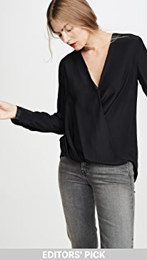 랙앤본 블라우스 Rag & Bone Victor Blouse