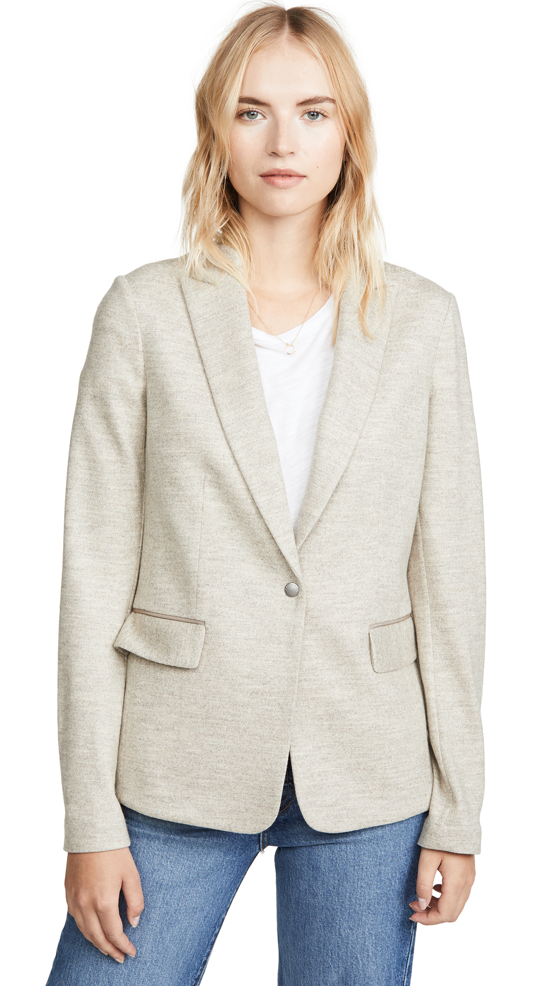 Rag & Bone Lexington Blazer In Oatmeal
