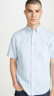 Rag & Bone Smith Short Sleeve Shirt