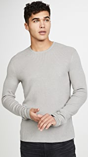 Rag & Bone Long Sleeve David Crew Sweatshirt