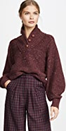 Rag & Bone Klark Button Up Sweater
