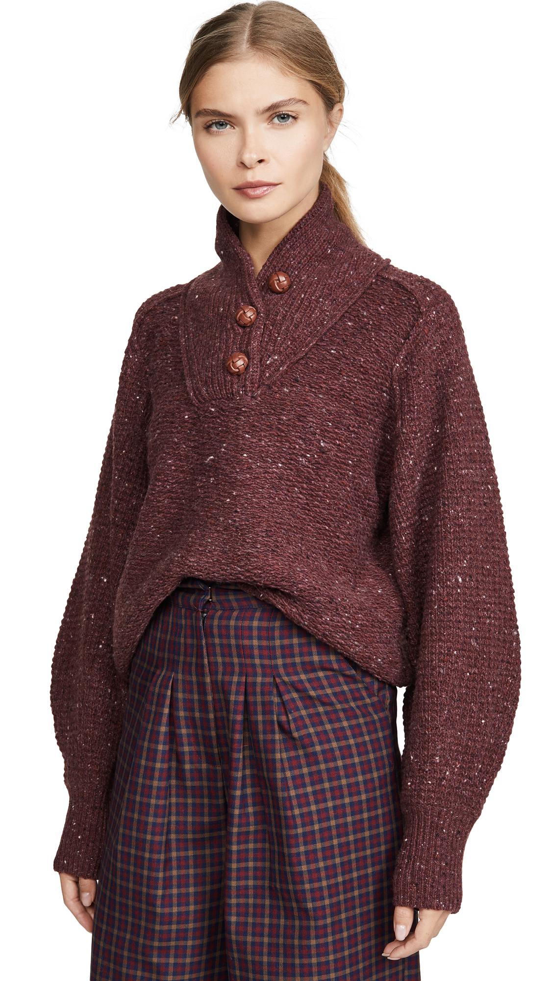 Buy Rag & Bone online - photo of Rag & Bone Klark Button Up Sweater