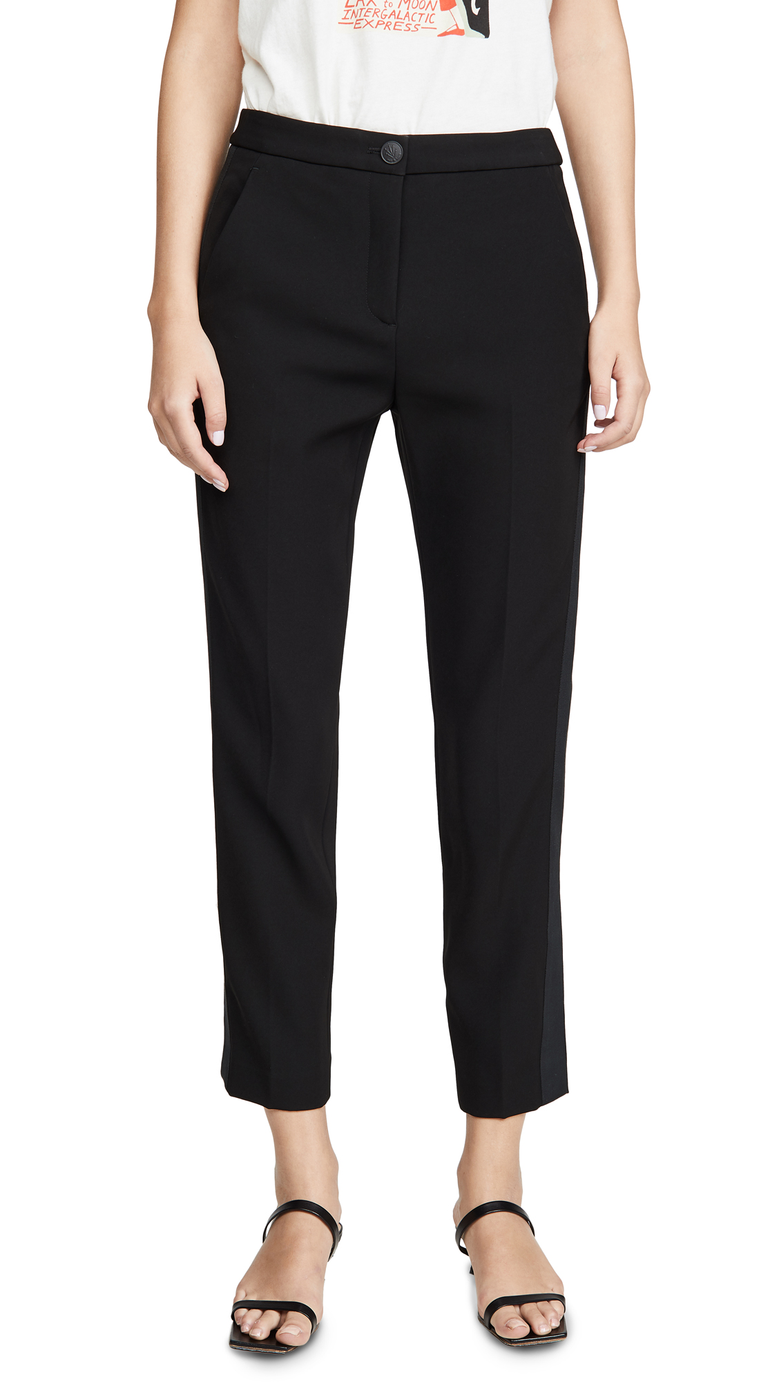 Buy Rag & Bone online - photo of Rag & Bone Meki Side Stripe Pants
