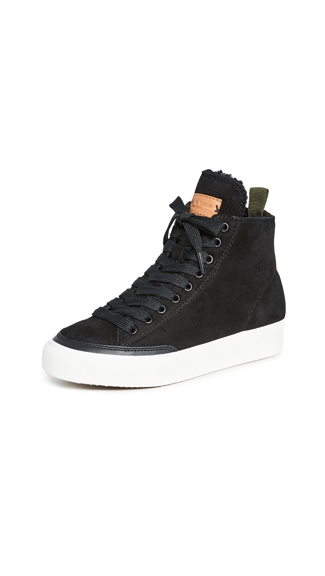 Rag & Bone Rb High Top Sneakers - 30% Off Sale