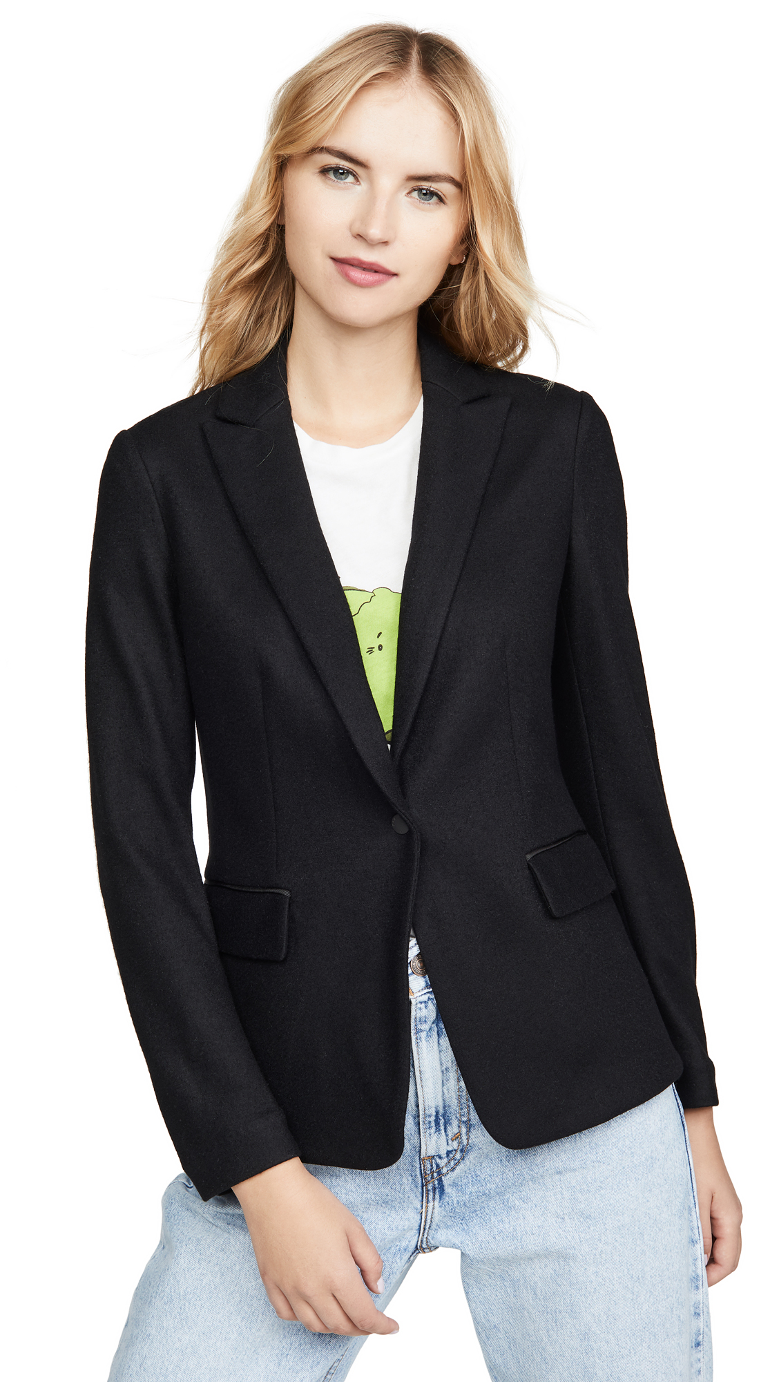 Rag & Bone Lexington Blazer In Black