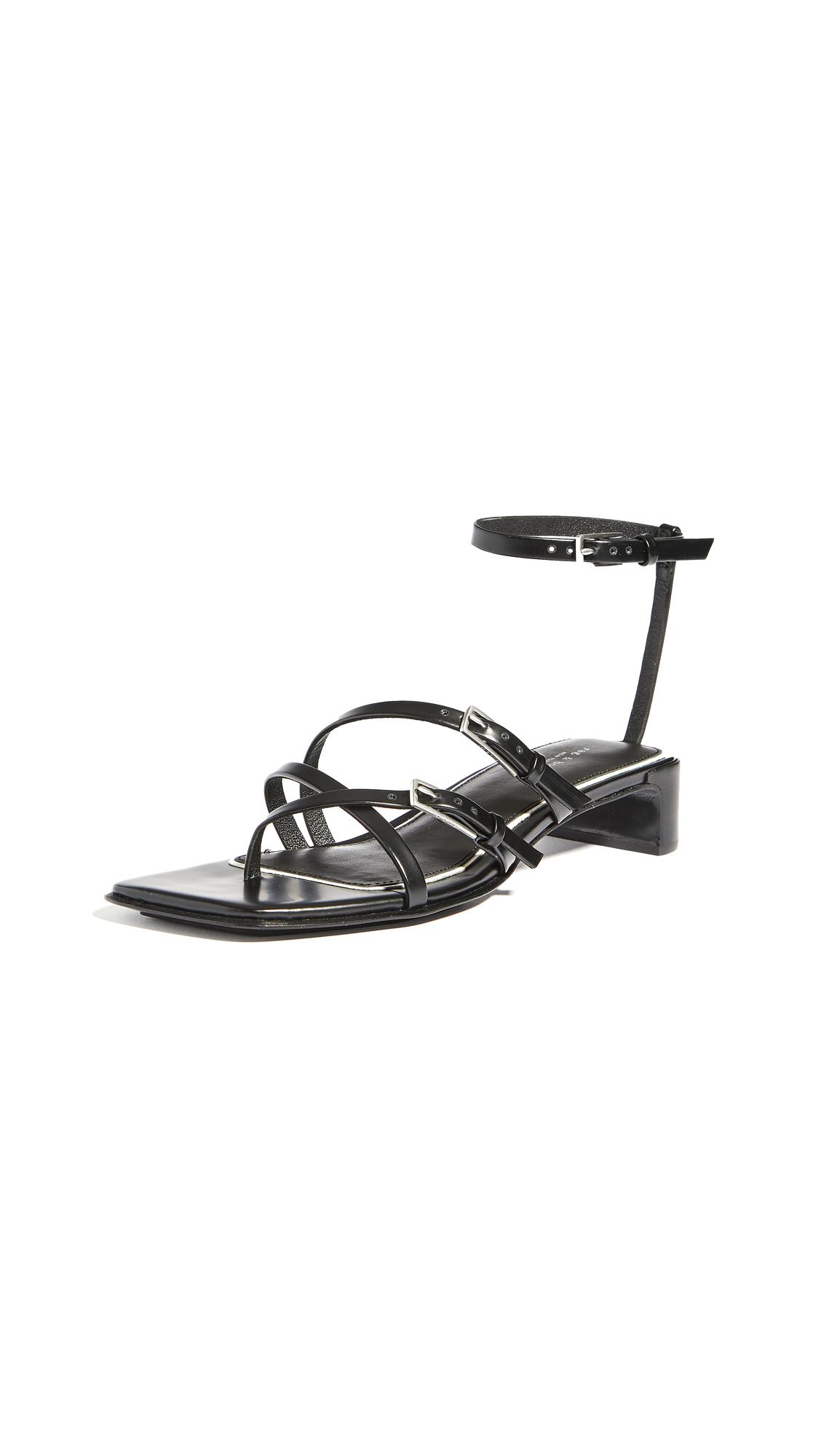 Buy Rag & Bone Calliope Mid Sandals online, shop Rag & Bone