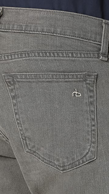Rag & Bone Standard Issue Fit 2 Iron Wash Jeans