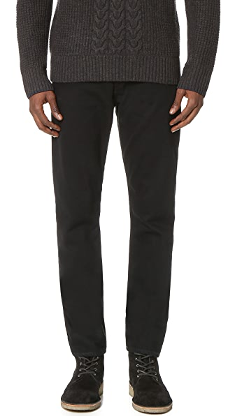 Rag & Bone Standard Issue Fit 2 Black Resin Jeans
