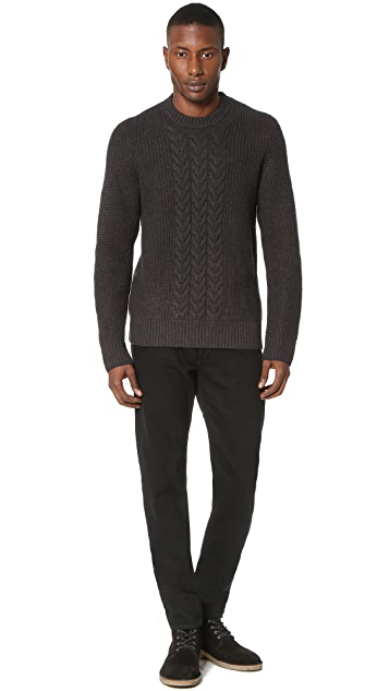 Rag & Bone Standard Issue Fit 2 Black Resin Jeans