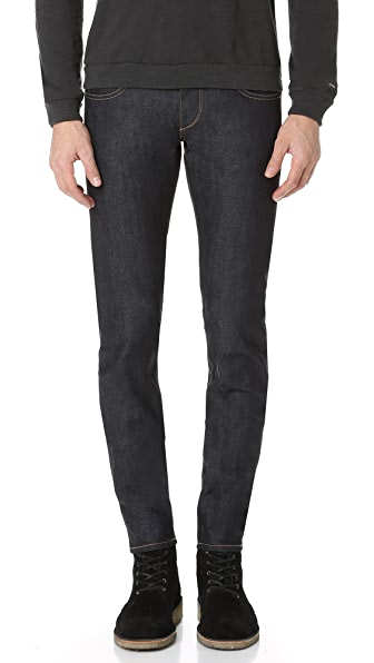 Rag & Bone Standard Issue Fit 1 Raw Jeans