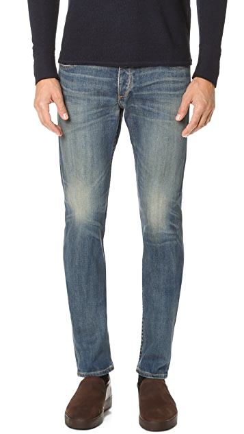 Rag & Bone Standard Issue Fit 2 Distressed Jeans